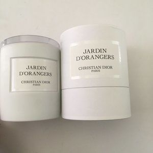 Christian Dior Candle Jar (Empty) and Box